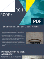 Jack Arch Roof