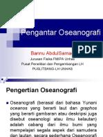 Oseonografi