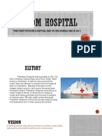 IMAJINATION HOSPITAL SHIP (CONTOH COMPANY PROFILE)