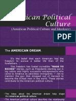 American Political Culture - PolSci.pptx