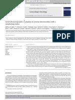 Serial Ultrasonographic Evaluation of Ov