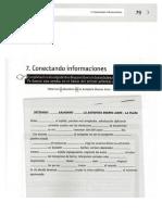 Conectando Informaciones  (Actividades de comprensión lectora)