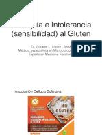 Celiaquia e Intolerancia Al Gluten Resumen Funcional