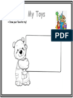 DRaw your favorite toy