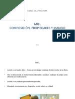 604 Miel Composición, Propiedades y Manejo