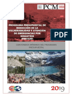 Contenidos Mínimos Del Programa Presupuestal 0068 2019