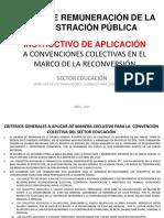 EDUCACIÓN - INSTRUCTIVO EXCLUSIVO CONVENCION COLECTIVA - ABRIL 2019