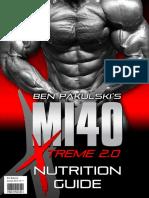MI40-X - Nutrition Guide
