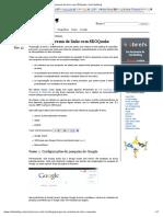 Sobre o Marcador de Dados - Pesquisar Console Ajuda