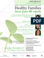 Growing Healthy Families