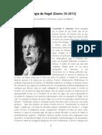 La Fenomenologia de Hegel (Conversación entre Jean-Clet Martin y Constatin V. Boundas)