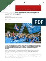 Cómo Es Realmente Vivir en Islandia, El País _más Amigable Del Mundo_ Para Los Inmigrantes - BBC News Mundo