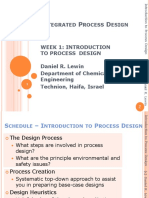 Introduction to Process Design SEIDER