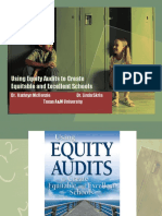 513001349 Using Equity Audits to Create Equitable and Excellent