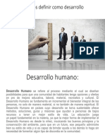 Desarrollo Humano contemporáneo