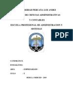 Tipos de Empresa en Peru
