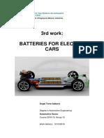 Bateries per a cotxes elèctrics