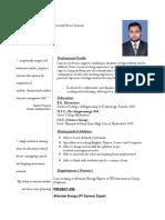 m Asif Teaching Cv