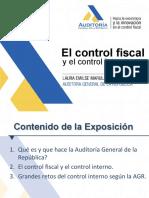 El Control Fiscal y El Control Interno