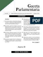 181018 - Gaceta Parlamentaria