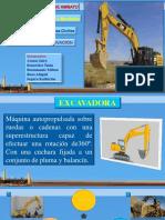 maquinas excabación