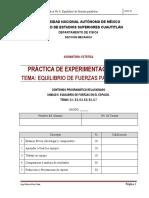 p 08 Equilibrio de Fuerzas Paralelas 2d_2019-II