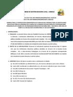 directiva para concurso público CAS