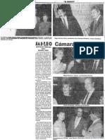 Brindis Navidad Camara Petrolera - Edgard Romero Nava - El Mundo 19.12.1987
