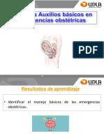 Cadena Supervivencia y Manejo Basico Emergencias Obstetricas
