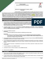 Edital Normativo Concurso Publico  2019