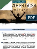 Estado e Religião - Laicidade Brasileira