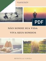 E Book Não Sonhe Sua Vida Viva Seus Sonhos
