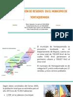 Minimización de Residuos en El Municipio de Ventaquemada