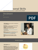 storyboard interpersonal skills