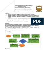 Práctica 6 Análisis Sensorial Descriptivo