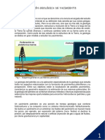 Caracterizacion Geologica de Yacimiento