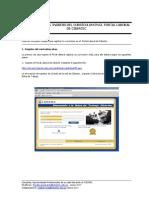 Tutorial Para Ingreso Del Curriculum Al Portal Laboral Cibertec
