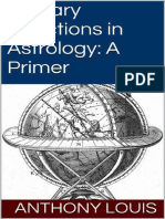 LOUIS, Anthony. Primary Directions in Astrology_ A Primer (2013)
