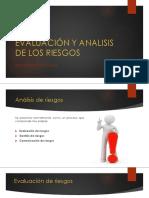 Evaluación y Analisis de Los Riesgos