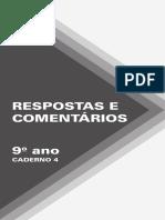 DL EFII Estudo Da Língua Cad4 9Ano Respostas