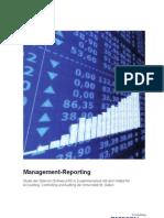 Detecon-Studie Management-Reporting - Studie der Detecon (Schweiz) AG in Zusammenarbeit mit der Universität St. Gallen