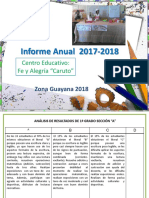 Informe Lliteral 2017-2018