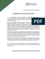 COMUNICADO FACULTAD DE EDUCACION Viernes 3 de mayo 2019.pdf