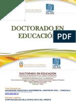 DoctoradoEdu UPEL2019