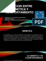 Relacion Entre Genetica y Comportamiento Biologia