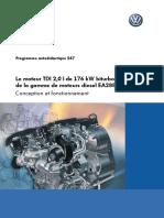 SSP 547 Le Moteur TDI 2,0 l de 176 KW Biturbo de La Gamme de Moteurs Diesel EA288