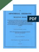 Donker van Heel, Konrad, Abnormal Hieratic Reading Book I (2013).pdf