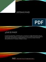 Presentación RAID