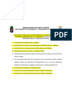 2. Requisitos Para Permisos de Construccion Puerto Cortes