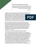 Análisis Social Del Movimiento Estudiantil Chileno Los Pingüino1 - Copia